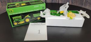 1/16 Scale Ertl John Deere Model 110 Lawn & Garden set