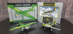 Various Scale Spec Cast John Deere (2)-Limited Edition airplane banks