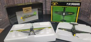 Various Scale Spec Cast John Deere (2)-Limited Edition airplanes