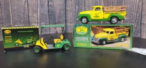 Various Scale Ertl/Georgia Marketing & Promotions John Deere (2)-vehicles
