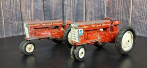 1/16 Scale Carter Tru-Scale (2)-narrow front tractors w/metal rims