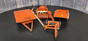 1/16 Scale Carter Tru-Scale (4)-implements