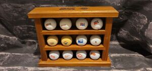 Pepsi Golf Ball Set with Display