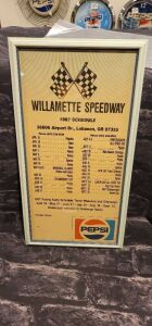 Pepsi Willamette Speedway Lebanon,Or Schedule