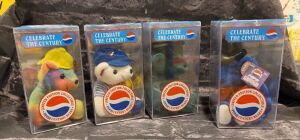 "Pepsi ""Rare Bears"" Set of 4 Century Bears"