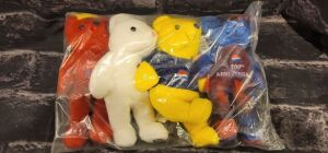 "Pepsi ""Rare Bears"" Set of 4 100th Anniversary"