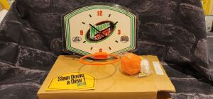 Mt Dew Mini Basketball Backboard Set