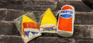 Pepsi Lot, Windbreaker, 2 Bicycle Hats