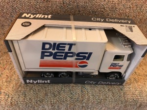 Nylint Diet Pepsi City Delivery Box Truck