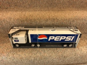 Nylint Pepsi Snub Nose Semi- Sound Machine