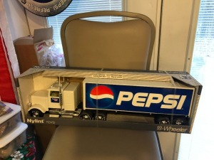 Nylint Pepsi 18 Wheeler Semi- Blue Trailer