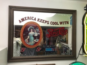 Keep Cool with Pepsi Cola Mirror