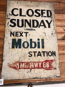 Mobil closed Sunday  Hwy66