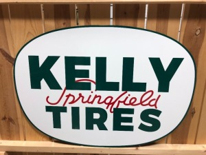 Kelly Springfield Tires Sign