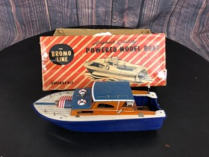 Brome Line Powered Model Boat