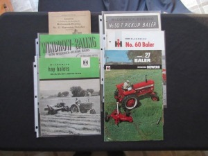McCormick IH Haying Literature Lot (7)