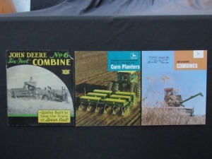 John Deere Literature Lot (3)