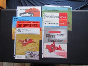 Massey Ferguson Swather, Baler Literature (8)