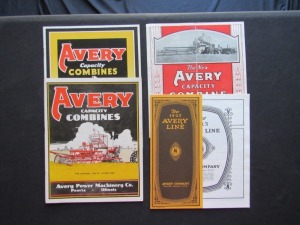 Avery Literature Lot (4)