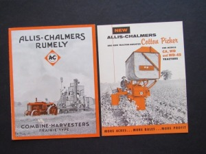 Allis-Chalmers Literature Lot (2)
