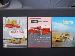 Case and Allis-Chalmers Industrial Equipment Literature (3)