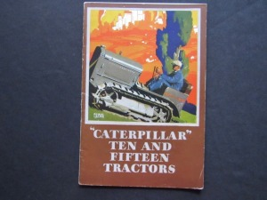 Caterpillar Ten and fifteen Tractors