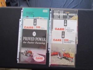 Case Tractor Literature Lot (6)