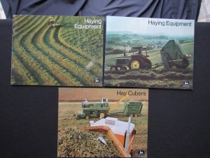 John Deere Haying Literature Lot (3)