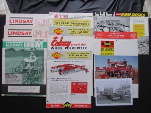 Assorted Equipment Literature Lot (14)