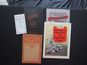 Assorted Equipment Literature Lot (5)