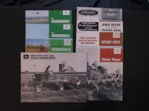 John Deere Equipment Literature Lot (8)