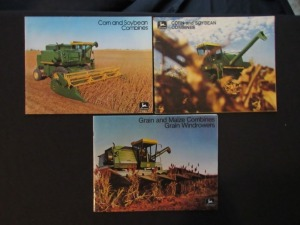 John Deere Equipment Literature Lot (3)