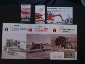 International Harvester Literature Lot (6)