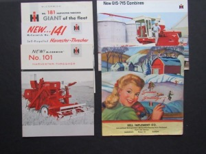 International Harvester Literature Lot (5)