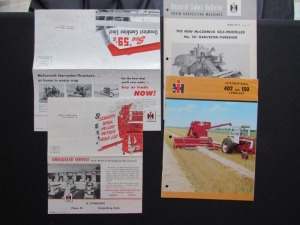 International Harvester Literature Lot (4)