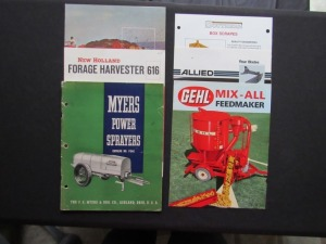 Assorted Sales Literature (5)