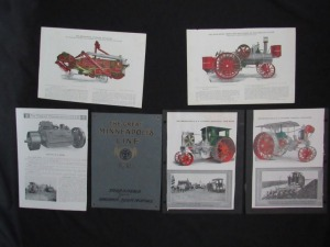 Assorted Minneapolis Threshing Machine Co. pages