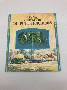 "Advance Rumely ""The new light-weight Oil Pull tractors"" catalogue"