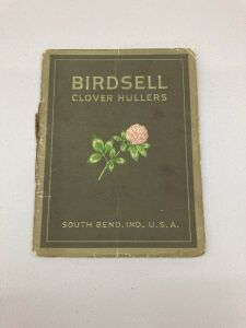 Birdsell Manufacturing Co Clover Huller booklet