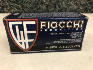 Fiocchi .357 MAG Casings - 50 rounds