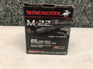 Winchester .22 LR 40 Grain Round Nose - 500 Rounds
