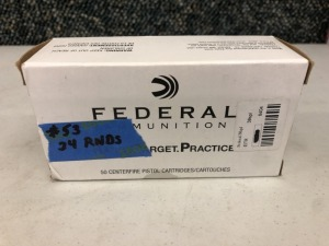 Federal .38 SPCL 130 Grain FMJ - 24 Rounds