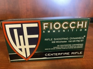 Fiocchi .308 WIN 150 gr GM BT - 20 rounds