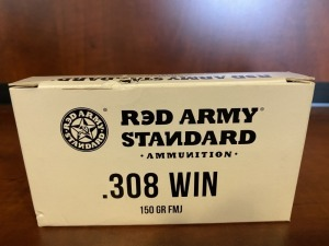 Reds Army Standard .308 WIN 150 grain FMJ - 20 rounds