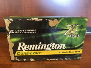 Remington .30-06 SPRG 165 grain Core-Lokt PSP - 20 rounds