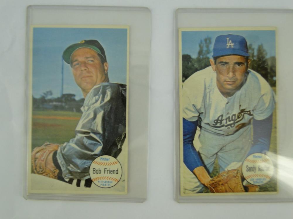 Tcg Baseball Card Sandy Koufax Bob Friend