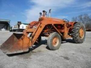 Allis Chalmes D-17 with AC Loader