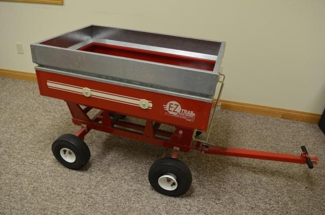 EZ Trail pedal tractor gravity wagon NO  5