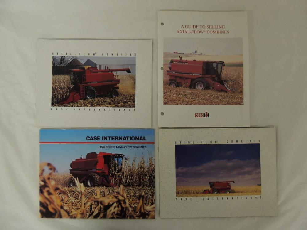 4 Case Ih Axial Flow Combines Booklets
