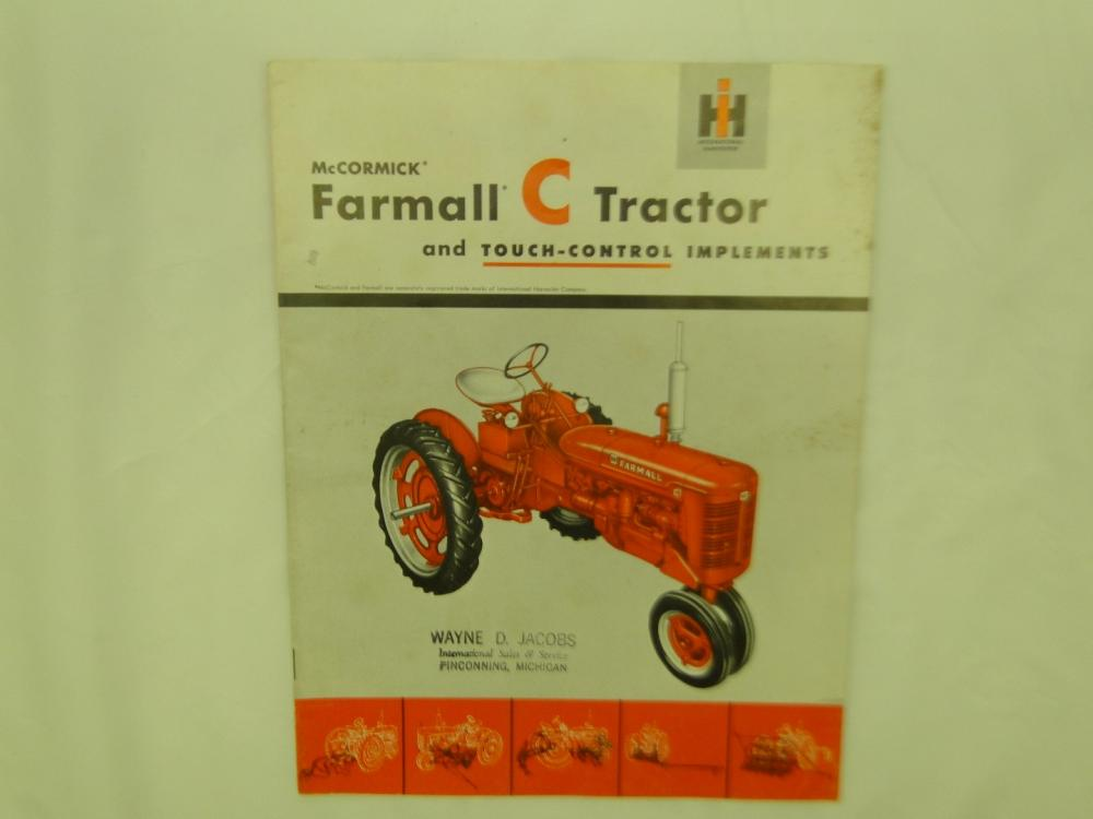 Business, Office & Industrial Mccormick Tractor Booklet